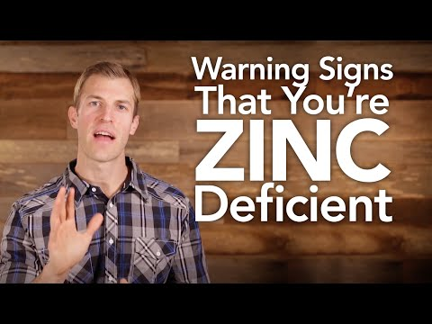 Warning Signs That You're Zinc Deficient