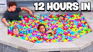 LAST TO LEAVE BALL PIT HOT TUB WINS IPHONE 11 PRO MAX - CHALLENGE!
