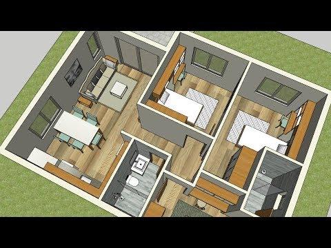 Groovy Thmyl 3 Bedroom House Plans Single Story Yla Asmaa Download Free Architecture Designs Rallybritishbridgeorg