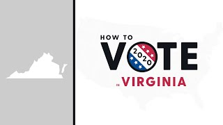 How To Vote In Virginia 2020