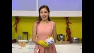 Mẹo xóa vết bẩn dầu mỡ nhà bếp - Vui Sống Mỗi Ngày [VTV3 - 15.04.2013]