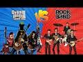 Guitar Hero Vs Rock Band cu l Es Mejor Dinosagrios