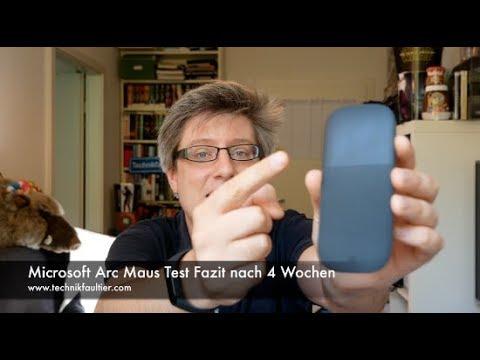Microsoft Arc Maus Test Fazit nach 4 Wochen