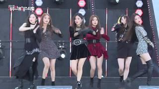 (G)I-DLE, HANN (Alone) [Fancam, Jeju hallyu Festival 2018]