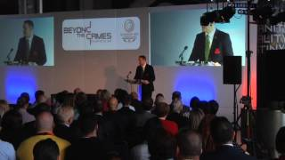 Glasgow 2014 Chief Executive David Grevemberg opens Beyond the Games