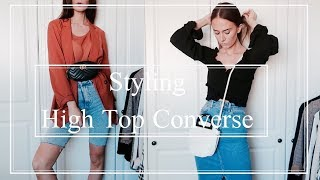 How To Style   High Top Converse