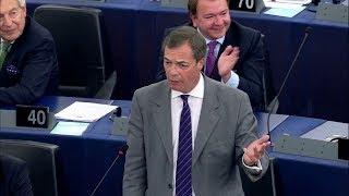 Nigel Farage: Azt üzenem Orbánnak, szálljon szembe a zsarnokokkal – ECHO TV