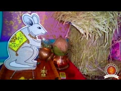Chetan Sonawane Home Ganpati Decoration Video