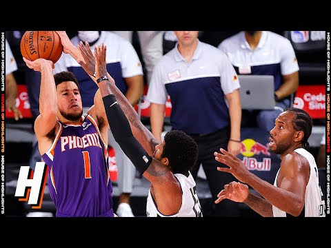 Devin Booker Hits BUZZER-BEATER Over Paul George for the Win | Suns vs Clippers | August 4, 2020