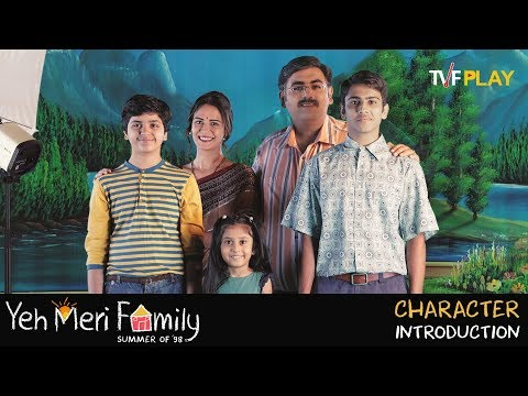 Yeh Meri Family - Character Introduction   Exciting shows and videos on TVFPlay
