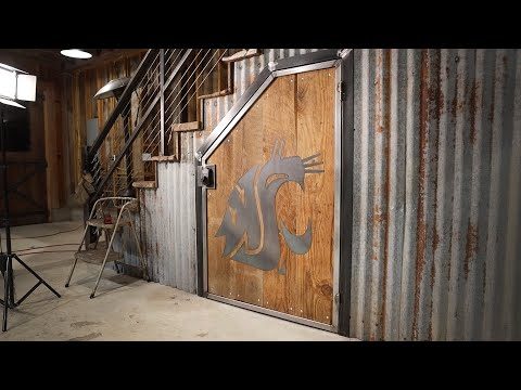 Welder storage with locking keypad [16:27]