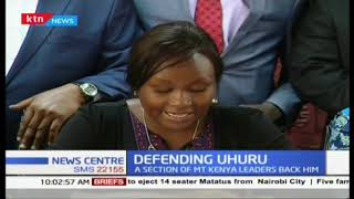 A section of Mt.Kenya leaders back Uhuru on the neglection