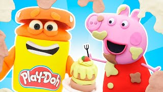 Peppa Pig Official Channel | Can You Catch Peppa Pig | Play-Doh Show Stop Motion