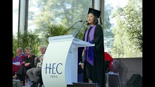 HEC Paris Class of 2017 MBA Student Speaker
