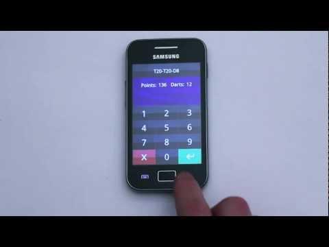 Video of DartTrainer app