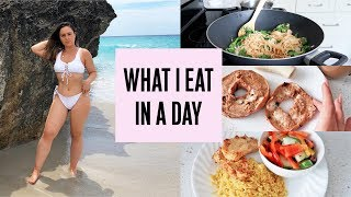 WHAT I EAT IN A DAY TO LOSE WEIGHT - 165lbs to 128lbs!