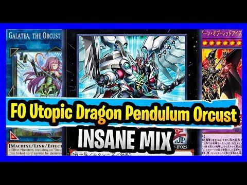 INSANE MIX F0 Utopic Dragon Pendulum Orcust Dragun Red-Eyes Altergiest Deck? IT WORKS : YuGiOh Duel