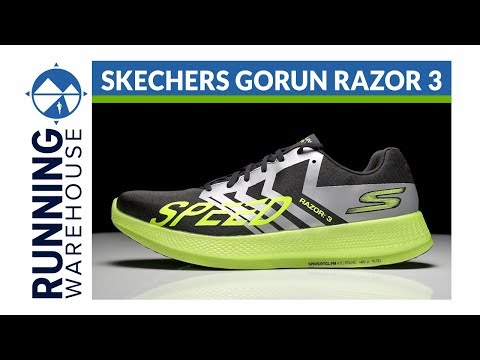 Skechers GOrun Razor 3 First Look Review