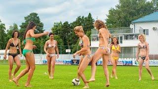 Приколы драка  Женский футбол не помеха вмочить по лицу