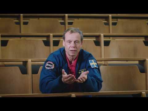 Gå kurs i bemannad rymdfart - med Fuglesang som lärare!