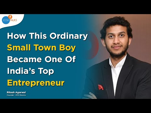 , title : 'How To Disrupt The Biggest Industries In The World? | Ritesh Agarwal | OYO Rooms |  Josh Talks