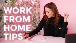 How to Work From Home (Without Losing Your Mind!)