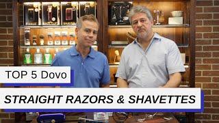 Top Five Dovo Straight Razors & Shavettes