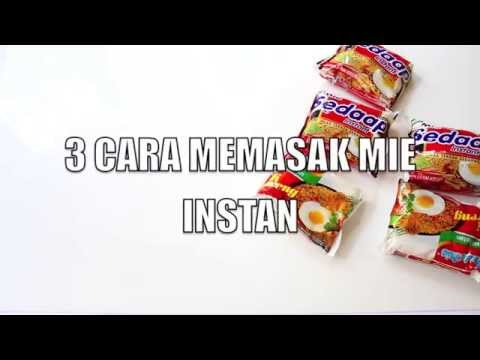 Video 3 CARA UNIK MEMASAK INDOMIE