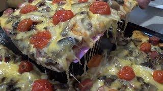 ПИЦЦА СКАЗКА! Рецепт Вкусной, Красочной и Тянущейся Пиццы