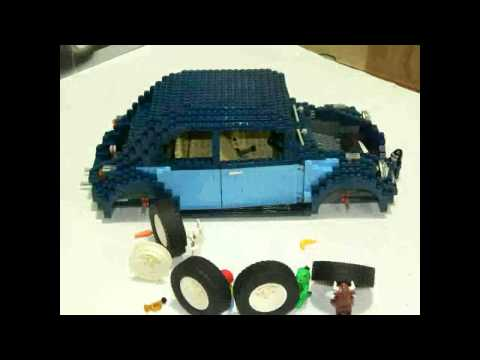 Vidéo LEGO Creator 10187 : Volkswagen Coccinelle