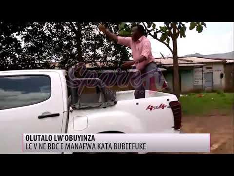 OLUTALO: LC V ne RDC e Manafwa kata bubeefuke