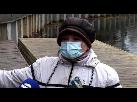 Благоустройство «Ермошкиного озера» в Курске вновь затягивается