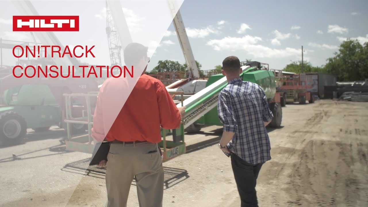 overview of an ON!Track consultation at HIlti