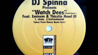 DJ Spinna - Watch Dees (Instrumental)