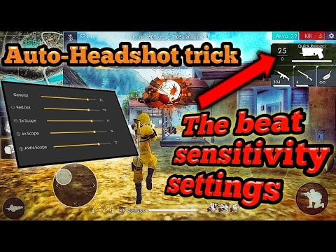 Download Free Fire Auto Headshot Trick Setting For Beginners Video