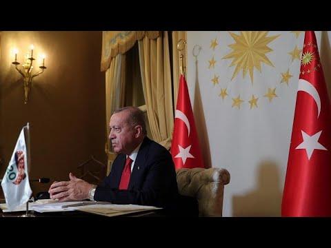 Ερντογάν: « Παρενόχληση» η έρευνα για όπλα των Γερμανών πεζοναυτών σε τουρκικό πλοίο…