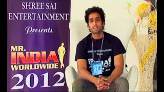 Mr India Worldwide 2012- Introduction By Contestants-3