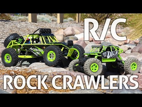 RC Rock Crawlers! WLtoys & JJRC – REVIEW