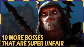 10 MORE UNFAIR GAME BOSSES #ZOOMINGAMES