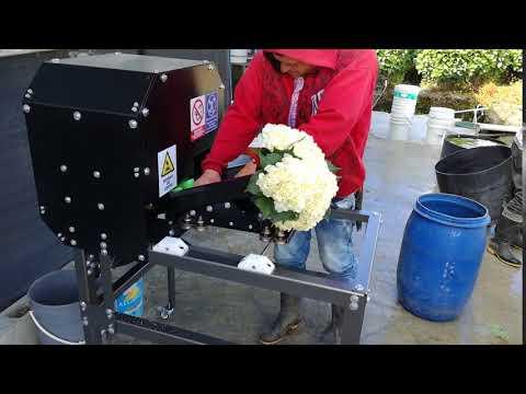 CuttingTEC - Guillotina Eléctrica/Cortadora de Flores