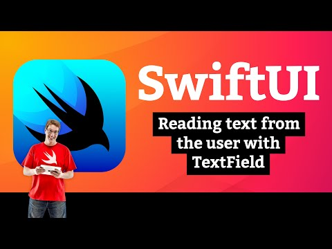 Reading text from the user with TextField – WeSplit SwiftUI Tutorial 7/11 thumbnail