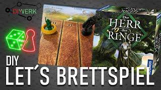 DIY - Let's Brettspiel - Der Herr der Ringe -