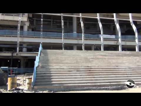 Por dentro da Obra - Arena Corinthians - Parte 2 - 12/07/2013