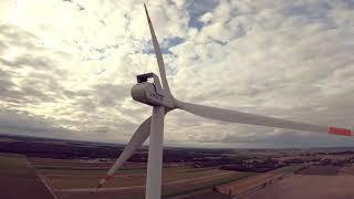 FPV - Wind Turbine - GoPro Hero 8.