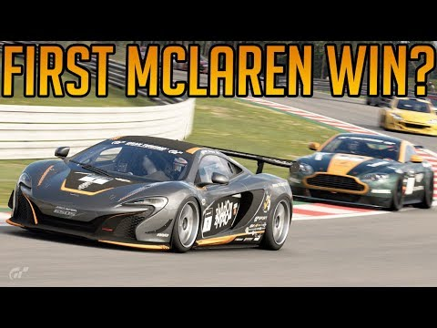 Gran Turismo Sport: First Win for Mclaren?