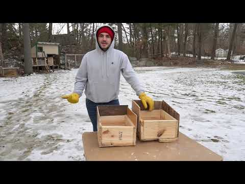 Nest Boxes for Meat Rabbits
