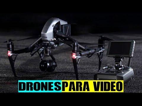 LOS 5 MEJORES DRONES PARA VÍDEO 2018●HD►INCREÍBLE DJI INSPIRE 1