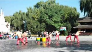 Video : China : Dai Water Splashing at the Ethnic Culture Park, BeiJing 北京