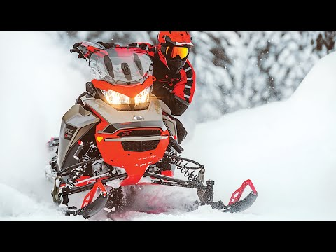 2021 Ski-Doo Renegade X-RS 850 E-TEC ES Ice Ripper XT 1.25 w/ Premium Color Display in Augusta, Maine - Video 1