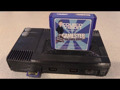 CollectorVision Phoenix Prototype System - FPGA ColecoVision System - Gamester81